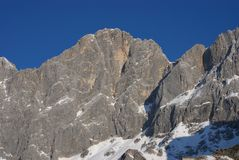 berg för 8 dachstein Royaltyfria Foton