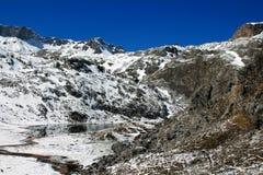 berg för berg för lake för gummilacka för corsica corsican crenode france Arkivbild