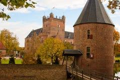 Berg för slotthuis tio Arkivbilder