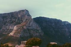 Berg för uddTowntabell Arkivfoto