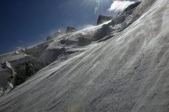 Berg-freeride Stockbild