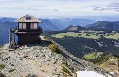 Berg-Fremont-Feuerausblickstation Lizenzfreies Stockbild