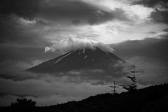 Berg Fuji Royalty-vrije Stock Foto