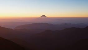 Berg Fuji Lizenzfreie Stockfotografie