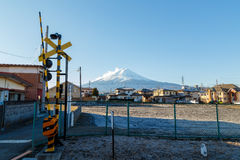 Berg Fuji in Japan Royalty-vrije Stock Foto's