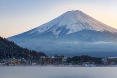 Berg Fuji Kawaguchiko Royaltyfri Foto