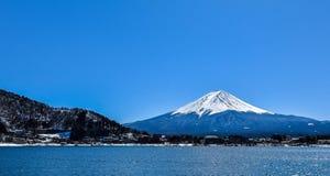 Berg fuji-San zonder gooi stock afbeeldingen