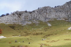Berg Gorbea lizenzfreies stockbild
