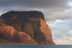 Berg Gower bei Lord Howe Island Stockfotografie