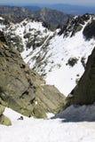 Berg-gredos im Spanien Lizenzfreies Stockbild
