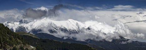 Berg in Griekenland stock afbeeldingen