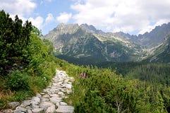 Berg höga Tatras, Slovakien, Europa Royaltyfri Fotografi