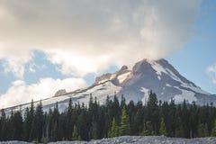 Berg-Haube, Oregons Abschluss oben Lizenzfreie Stockfotos