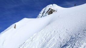 Berg het Beklimmen stock videobeelden