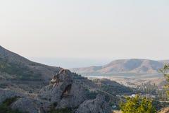 Berg Het mooie Landschap van de Berg Royalty-vrije Stock Afbeelding