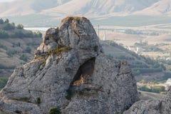 Berg Het mooie Landschap van de Berg Stock Foto