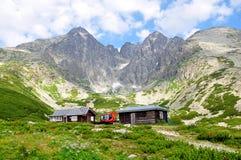 Berg Hoge Tatras, Slowakije, Europa Stock Foto's