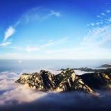 Berg Hua Royalty-vrije Stock Afbeeldingen