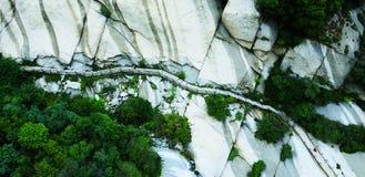 Berg Hua Royalty-vrije Stock Foto's