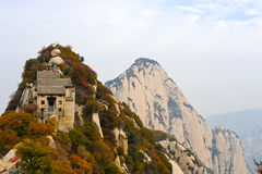 Berg Hua in China stock foto