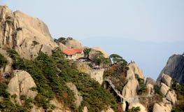 Berg Huangshan Stockbilder