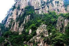 Berg Huangshan, Anhui, China Stockbilder