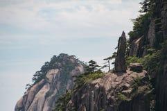 Berg Huangshan China Stockbilder