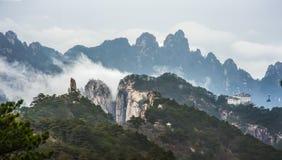 Berg Huangshan Chinas Anhui Lizenzfreie Stockfotos