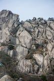 Berg Huangshan Chinas Anhui Lizenzfreies Stockfoto