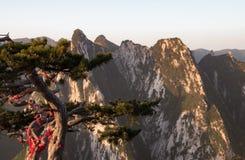Berg Huashan China Stockfotografie