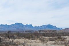 Berg i öknen Arkivfoton
