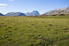Berg i abruzzo Royaltyfri Foto