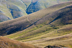 Berg i abruzzo Arkivfoton