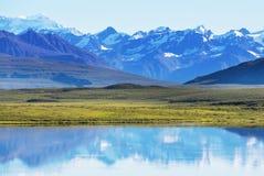 Berg i Alaska arkivfoton