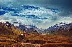 Berg i Alaska royaltyfria foton
