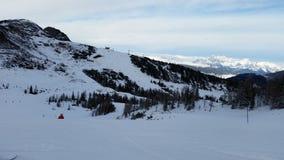 Berg i alpsna Fotografering för Bildbyråer