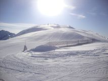 Berg i Banff arkivfoto