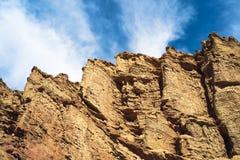 Berg i centrala Asien arkivbild