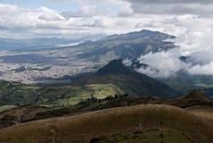Berg i Cuito, Ecuador Arkivfoton