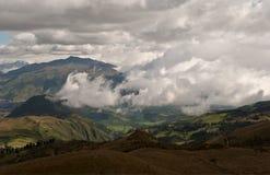 Berg i Cuito, Ecuador Fotografering för Bildbyråer
