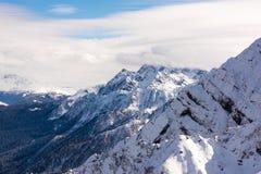 Berg i den Sochi semesterorten Arkivbild