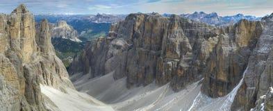 Berg i dolomite royaltyfria foton
