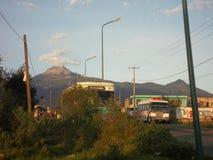 Berg i eftermiddagen arkivbilder