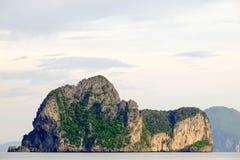 Berg i havet Royaltyfria Bilder