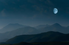 Berg i Kaukasus Arkivfoton