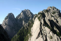 Berg i Kina royaltyfri fotografi