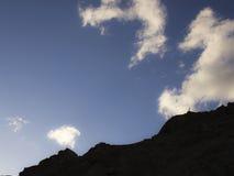 Berg i Ladakh Arkivbilder
