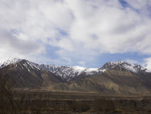 Berg i Ladakh Fotografering för Bildbyråer