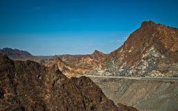 Berg i Oman Royaltyfria Foton