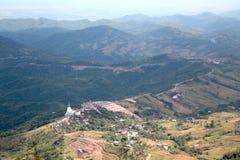 Berg i Phetchabun, Thailand Royaltyfri Bild